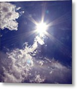 Let The Sun Shine In Metal Print by Andrea Dale
