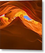 Let The Sunshine In The Canyons Metal Print