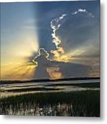 Let There Be Light Metal Print