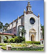 Let There Be Light Knowles Memorial Chapel 1 By Diana Sainz Metal Print
