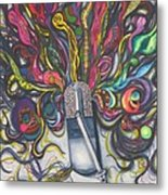 Let Your Music Flow In Harmony Metal Print
