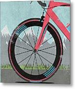 L'etape Du Tour Bike Metal Print