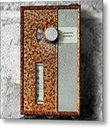 Letchwoth Village Thermostat Metal Print