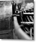 Lets Boat Metal Print