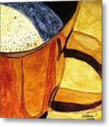Let's Have A Cuppa Metal Print