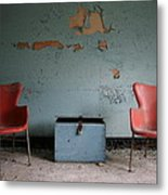 Let's Have A Talk Metal Print
