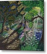 Let's Meet At The Old Apple Tree Metal Print