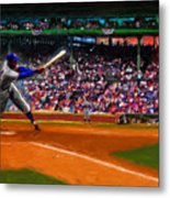 Let's Play Two Metal Print by Alan Greene