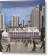Let's Skate At Habourfront Centre Metal Print