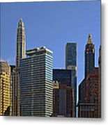 Let's Talk Chicago Metal Print