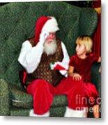 Letter To Santa Metal Print by Eddie Yerkish