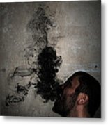 Letting The Darkness Out Metal Print
