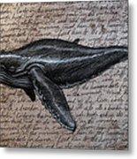 Leviathan Metal Print by Mark Zelmer