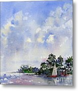 Leeward The Island Metal Print