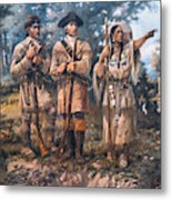 Lewis And Clark, 1805 Metal Print