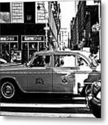 Lexington Avenue Metal Print