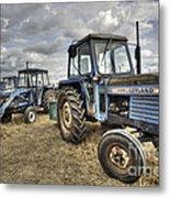 Leyland Tractors  Metal Print