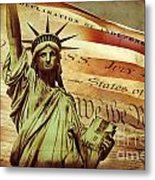Declaration Of Independence Metal Print