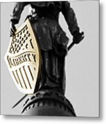Liberty Metal Print by Andrea Dale