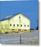 Liberty Barn Metal Print