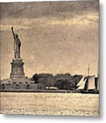 Liberty Enlightening The World Metal Print