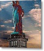 Liberty For All Metal Print