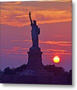 Liberty Lady Metal Print