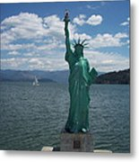 Liberty On Lake Pend Oreille  Metal Print