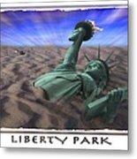 Liberty Park Metal Print