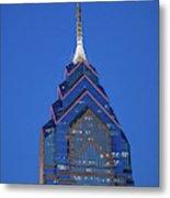 Liberty Place Skyscrapper At Dusk Metal Print