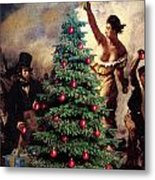 Liberty Places Star On The Tree Metal Print
