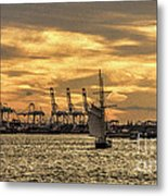 Liberty Sailing  Metal Print