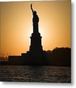 Liberty Sunset Metal Print