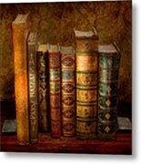 Librarian - Writer - Antiquarian Books Metal Print