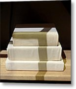 Library Of Books Metal Print