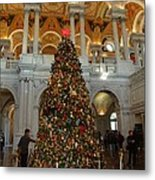 Library Of Congress - Washington Dc - 011310 Metal Print by DC Photographer