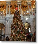 Library Of Congress - Washington Dc - 011312 Metal Print by DC Photographer