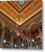 Library Of Congress - Washington Dc - 011314 Metal Print