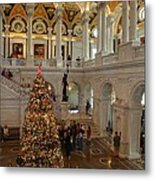 Library Of Congress - Washington Dc - 011315 Metal Print
