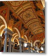 Library Of Congress - Washington Dc - 011317 Metal Print by DC Photographer