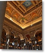 Library Of Congress - Washington Dc - 011321 Metal Print by DC Photographer