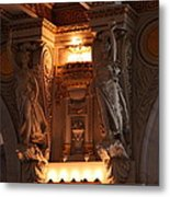 Library Of Congress - Washington Dc - 01137 Metal Print by DC Photographer
