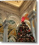 Library Of Congress - Washington Dc - 01139 Metal Print by DC Photographer