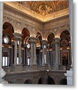 Library Of Congress Washington Dc Metal Print