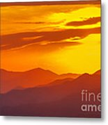 Lickstone Gap Sunset 5 Metal Print