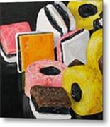 Licorice Candy Metal Print