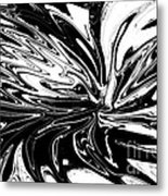 Licorice In Abstract Metal Print
