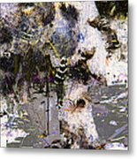 Life And Death On The River Of Rocks Trail Metal Print