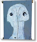 Life As Human Number 27 Ghosts Metal Print by Mark M  Mellon