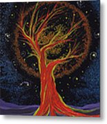 Life Blood Tree By Jrr Metal Print